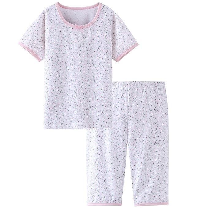 Amazon.com: DGAGA juego de pijama de algodón sólido para ...