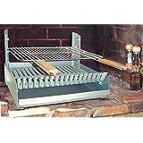 cf42c8a03d939 Barbecue à charbon de bois à poser en acier Arles  Amazon.fr ...