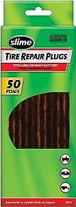 """Slime 20143 Extra-Long Black Tire Repair Strings, 7-1/4"""" (Pack of 50)"""