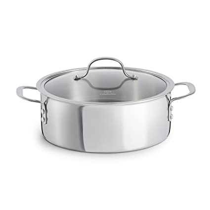 Amazoncom Calphalon Tri Ply Stainless Steel Cookware Dutch Oven