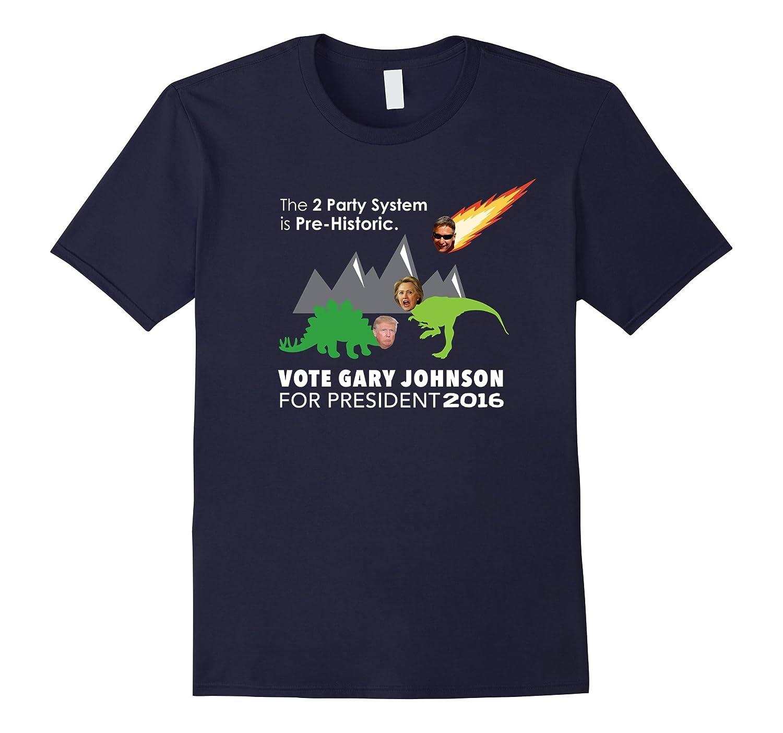 Gary Johnson 2016 T Shirt  Make America Sane Again-CD