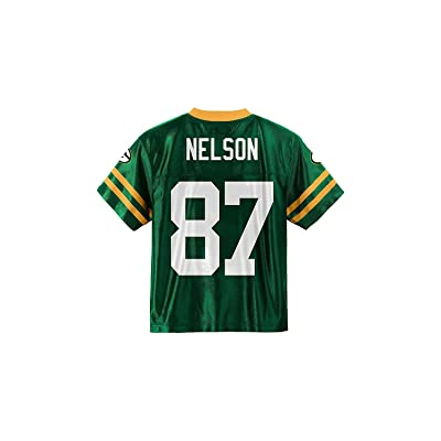 Jordy Nelson Green Bay Packers Green Youth Player Home Jersey