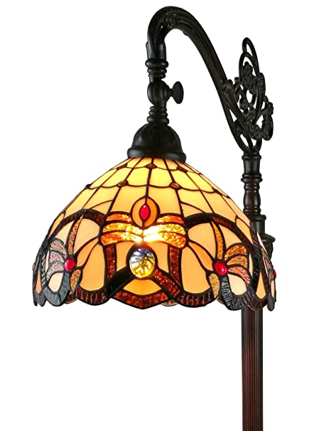 Amora lighting am272fl11 tiffany style victorian reading floor lamp amora lighting am272fl11 tiffany style victorian reading floor lamp 62quot aloadofball Image collections