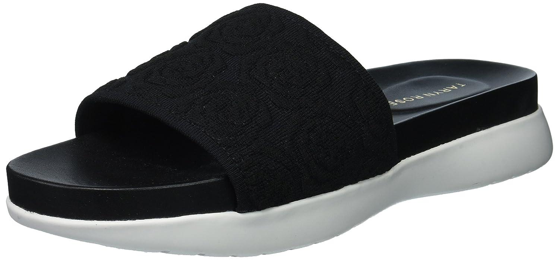 Taryn Rose Women's Iris Knit Slide Sandal B075MQCFYJ 8.5 M M US|Black