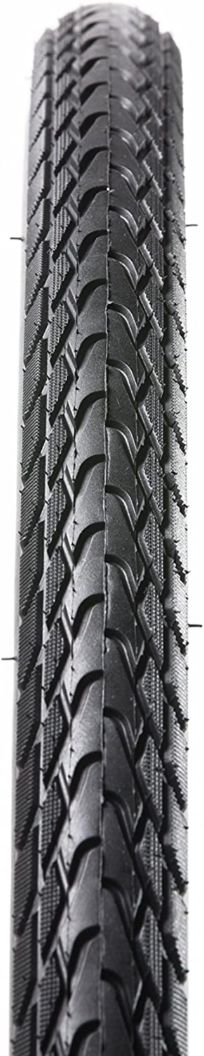 PANARACER Tour Reflective Tape Black City//Road //Touring Bicycle Wire Bead Tire