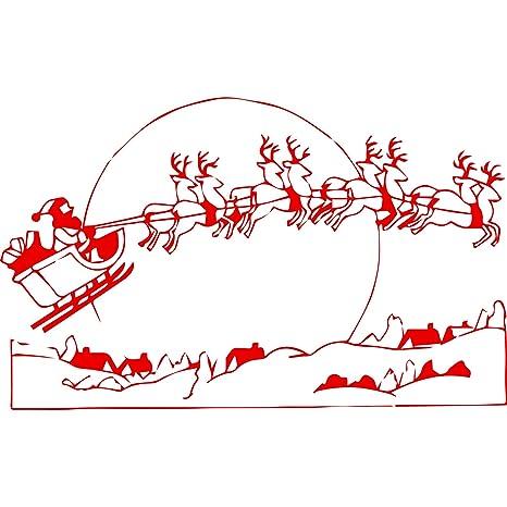 Slitta Di Babbo Natale Fai Da Te.La Slitta Di Babbo Natale Misura 60 Cm Di Larghezza 37 Cm Altezza