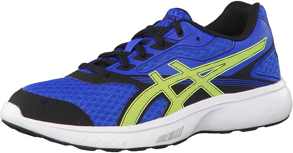 asics stormer 2 gs junior running shoes size