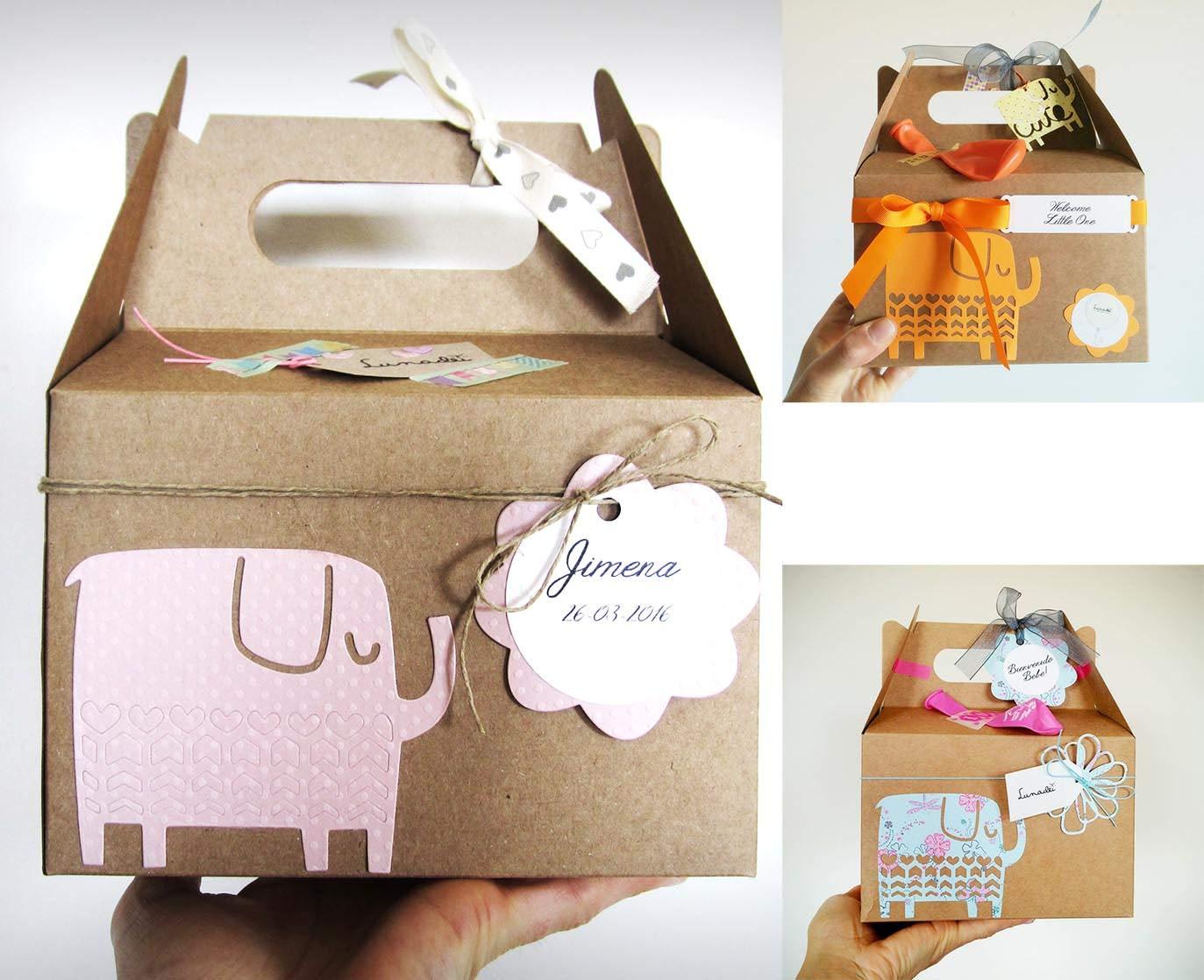 12 meses 4 pares de citas lindas en caja de regalo /Único regalo de baby shower o reci/én nacido Juego de calcetines para beb/é varios