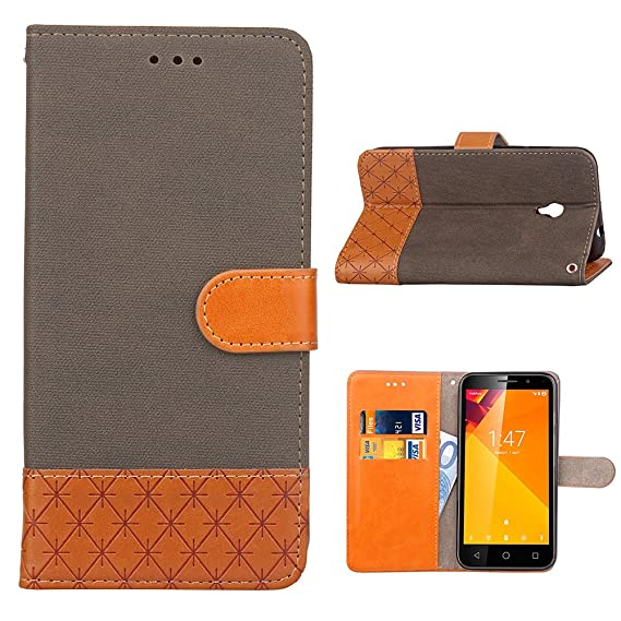 Smart Turbo 7 Case, Yoodi Premium Wallet Case [Credit Card Slot Holder] [