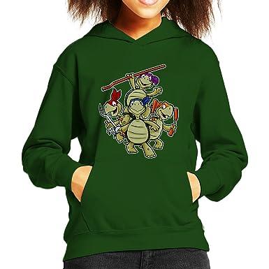 Touche Teenage Mutant Ninja Turtles Kids Hooded Sweatshirt ...