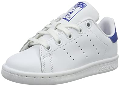 Adidas Stan Smith C, Basket Unisexe - Enfant - Multicolore - Multicolore (Ftwwht/