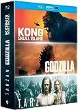 Kong : Skull Island + Godzilla + Tarzan - Coffret Blu-Ray [Blu-ray + Copie digitale]