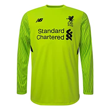 e8ebda67e Liverpool FC LFC Mens Replica Third L S Goalkeeper Shirt 17 18 Official