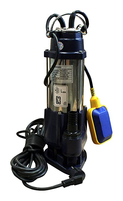 Amazon com: Submersible Pump for Dirty Waters, 250 W: Home