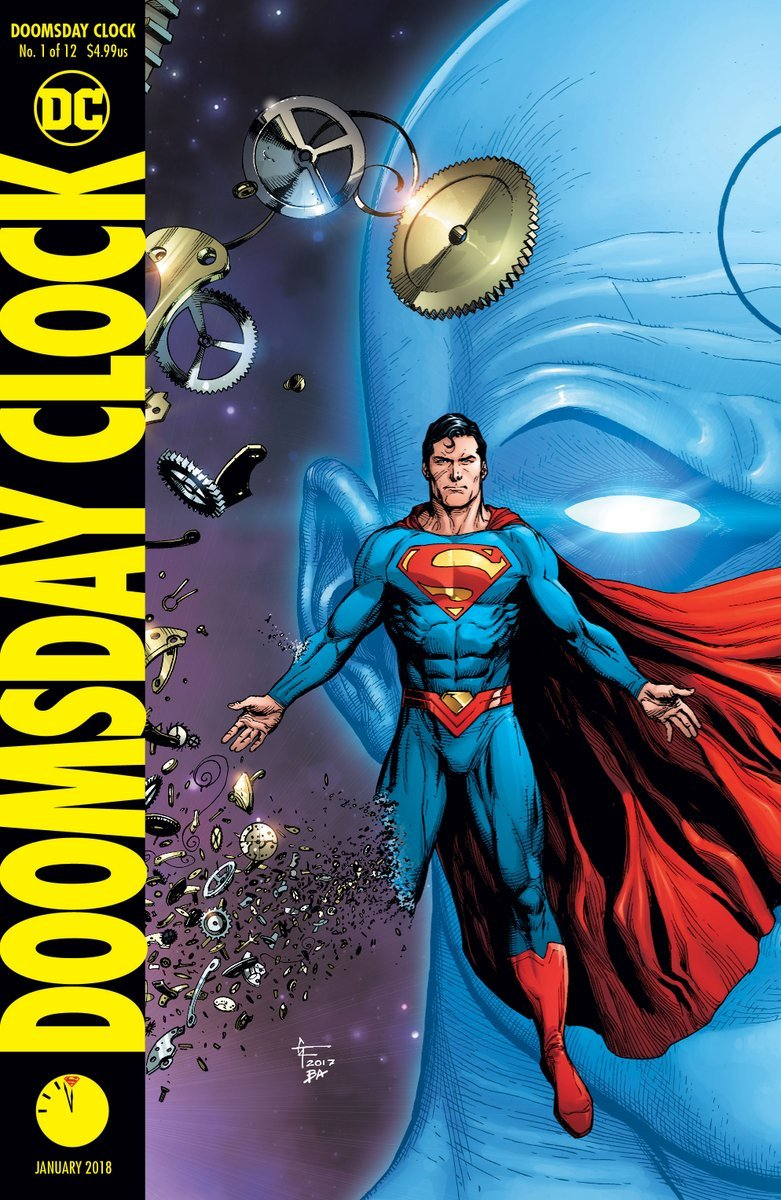 Doomsday Clock Issue 1 Cover B By Gary Frank Gary Frank