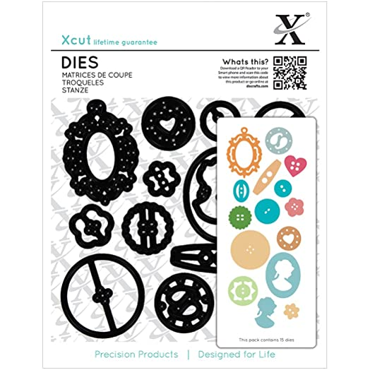 Image result for xcut buttons die