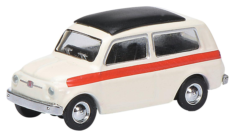 Amazon Com Schuco 452627300 Fiat 500 Giardiniera Vehicle Toys Games