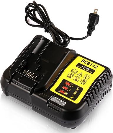 Amazon.com: STZ Dewalt DCB112 - Cargador de batería de iones ...