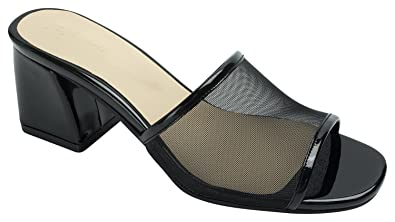 561b276e3 Amazon.com | AnnaKastle Womens Mesh Strap Heel Mule Sandal | Sandals