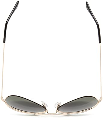 Amazon.com: Polaroid Sunglasses 04214S Polarized Aviator Sunglasses,Gold,58 mm: Clothing
