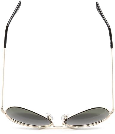 Amazon.com: Polaroid Sunglasses 04214S Polarized Aviator Sunglasses,Gold,58 mm: Clothing