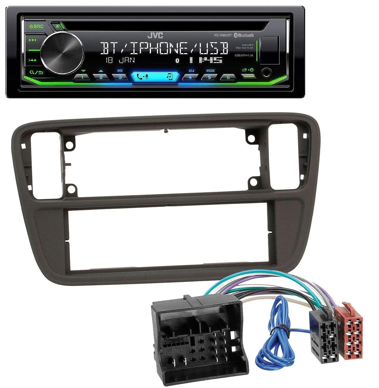 caraudio24 JVC KD-R992BT Bluetooth MP3 CD AUX USB Autoradio f/ür Seat MII ab 2011