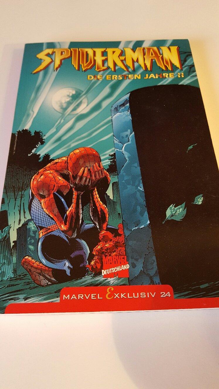 Spider-Man DIE ERSTEN JAHRE 2 - (Marvel Exklusiv 24) Taschenbuch – 2003 Kurt Olliffe Pat Busiek Panini Comics B002PC0ALK