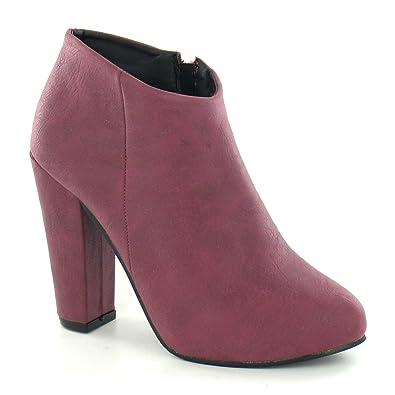 Anne Michelle Damen Ankle Boots mit Absatz (39 EU) (Braun) Jpw2HQ