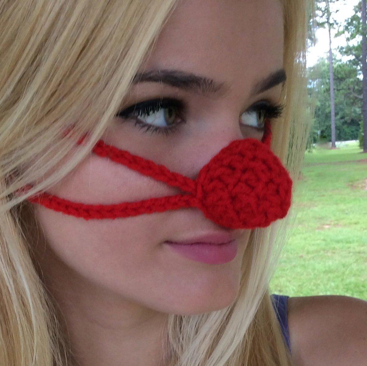Red Nose Aunt Marty's Original Nose Warmer