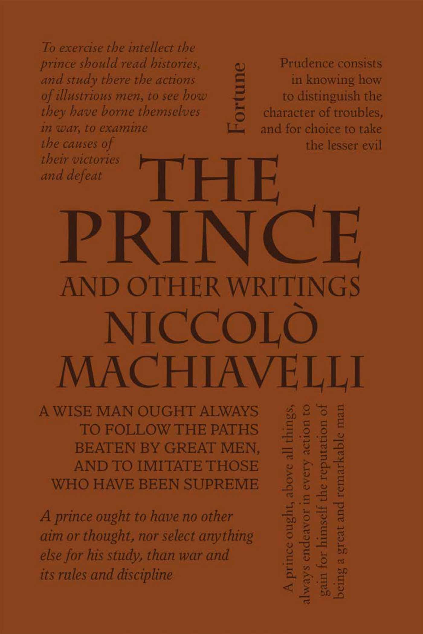 14152ff0fb8f The Prince and Other Writings (Word Cloud Classics)  Niccolò ...