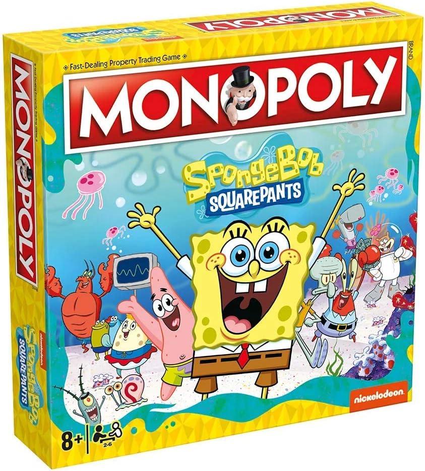 Juego de Mesa Monopoly Bob Esponja. Versión en inglés: Amazon.es: Hogar