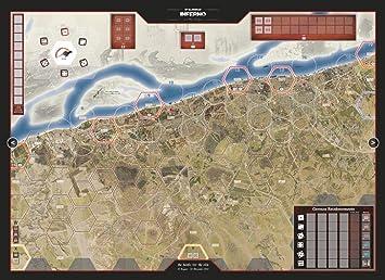 Wargame Accessoires Stalingrad - Inferno on The Volga: Mounted Mapboard: Amazon.es: Juguetes y juegos