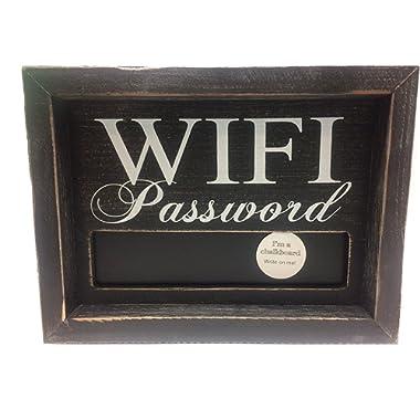 Adams Manufacturing WiFi Large Password Chalkboard