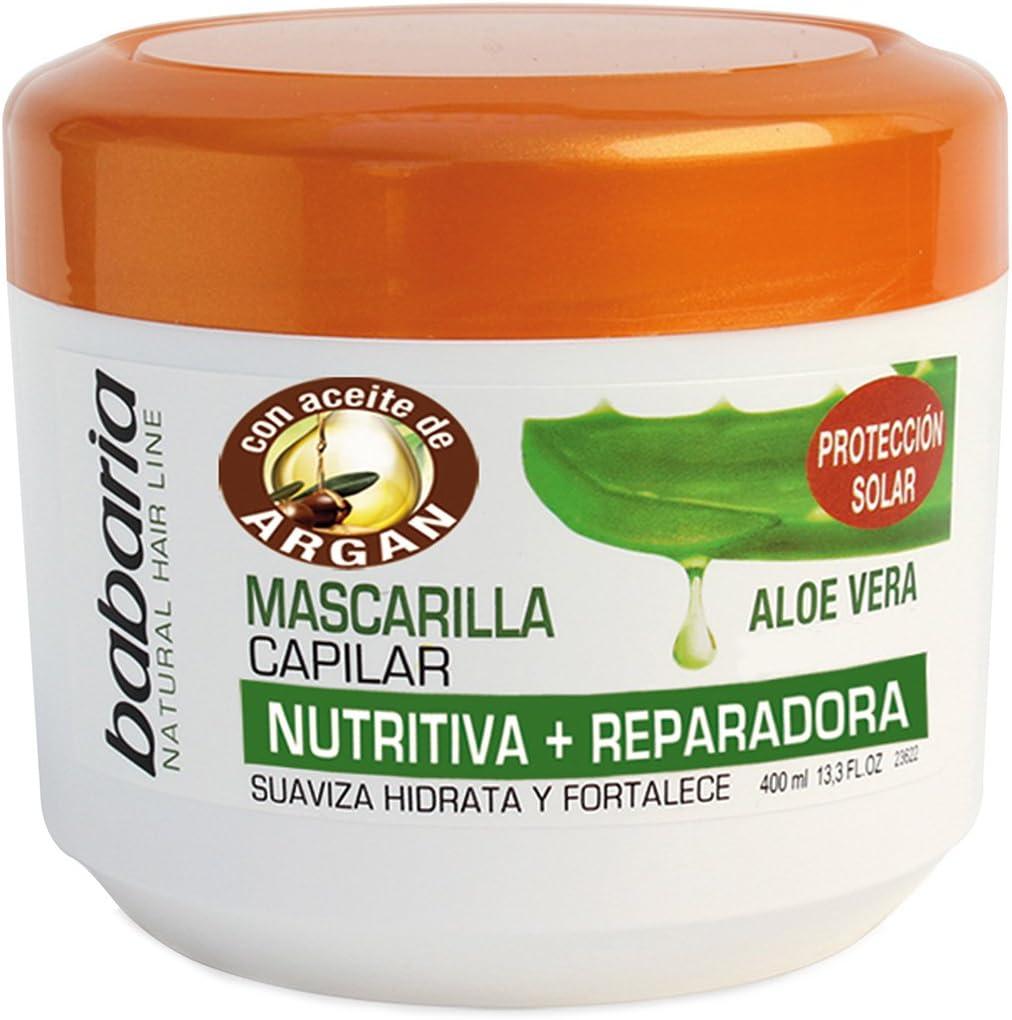 Babaria Aloe Vera Mascarilla Capilar Reparadora - 400 ml
