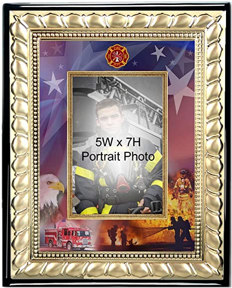 Treasure of Nature Fireman Picture Frame