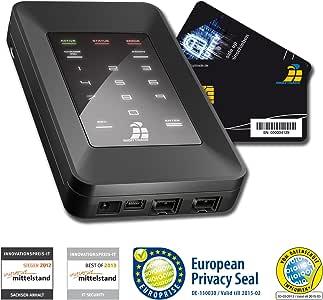 Digittrade HS256S - Disco Duro Externo con Seguridad AES 500 GB ...