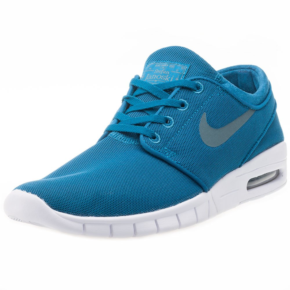 Green Abyss Hasta White Hasta 301 Nike Stefan Janoski Max, Unisex Adults' Low-Top Sneakers