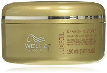 Amazon.com: Wella Luxeoil Keratin Restore Mask, 5.1 Ounce: Beauty