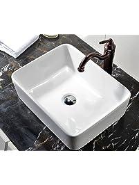 Bathroom Sinks Amazoncom Kitchen Bath Fixtures Bathroom