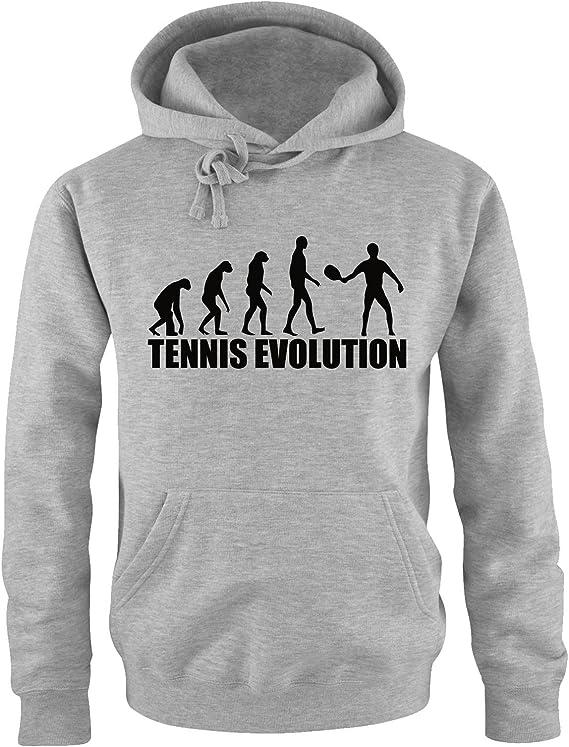 Tennis Sport Kapuzen Sweatshirt Pullover S-XXL EVOLUTION