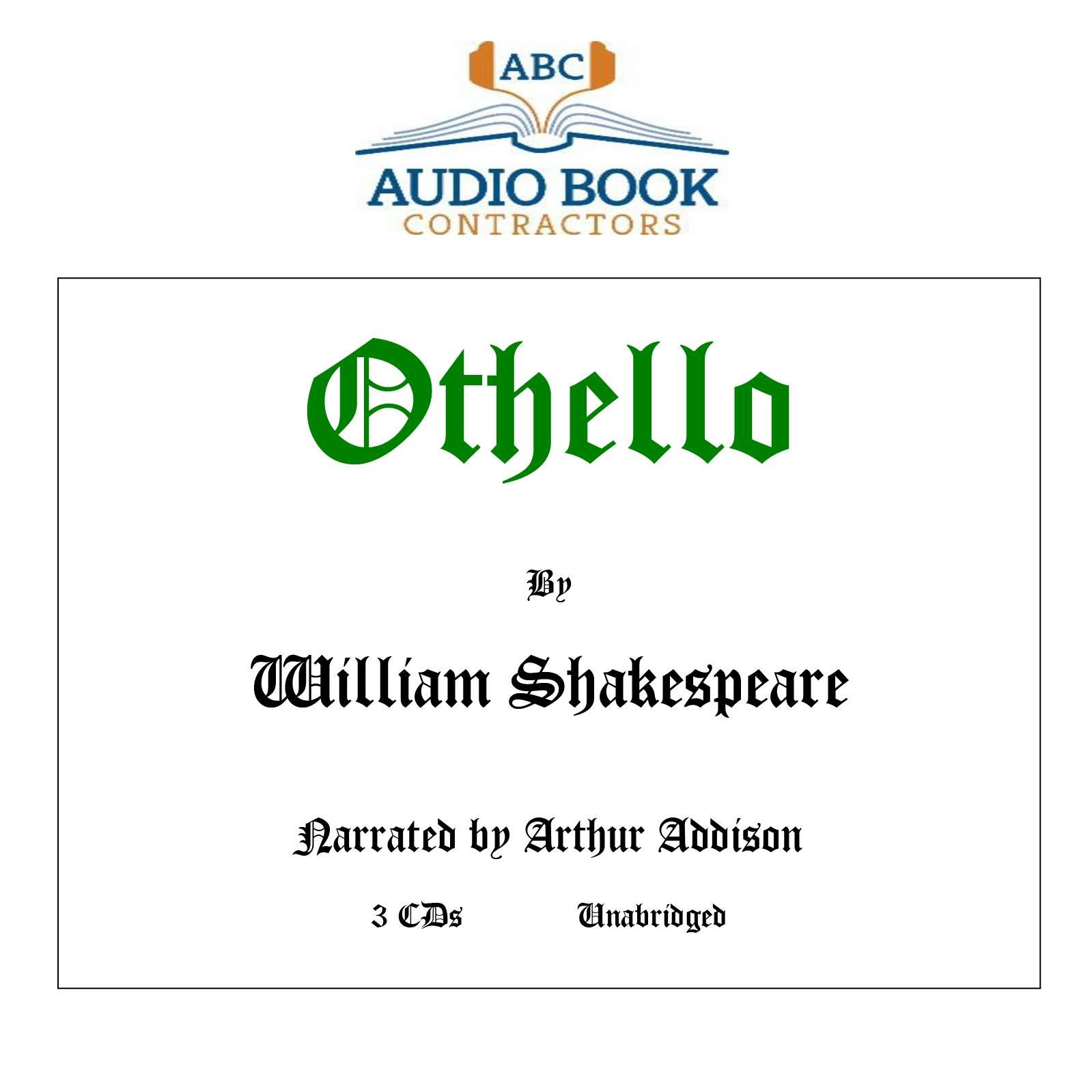 Read Online Othello (Classic Books on CD Collection) [UNABRIDGED] ebook