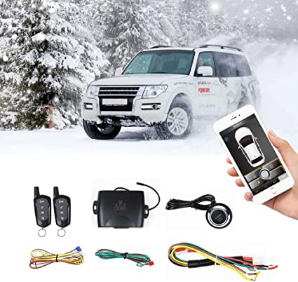 [SCHEMATICS_4CA]  Amazon.com: Universal Car Remote Starter Keyless Entry One Key Engine Start  for Car Remote Key or Phone Control: Car Electronics | Rover Remote Starter Diagram |  | Amazon.com