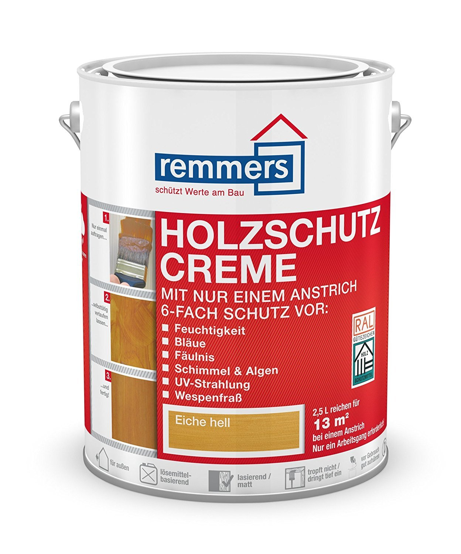 Relativ Remmers Holzschutz-Creme - nussbaum 5L: Amazon.de: Baumarkt EY26