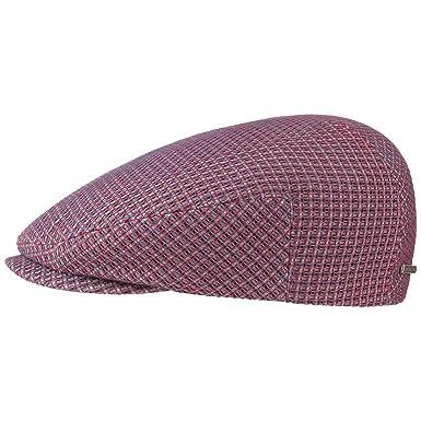 5a3e59b9b30 Stetson 3D Effect Cotton Flat Cap Ivy hat  Amazon.co.uk  Clothing