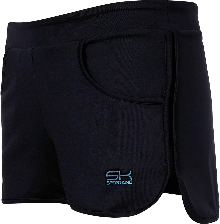 SPORTKIND Short 2-en-1 avec Pantalon int/érieur int/égr/é pour Tennis//Volleyball//Sport pour Filles /& Femmes