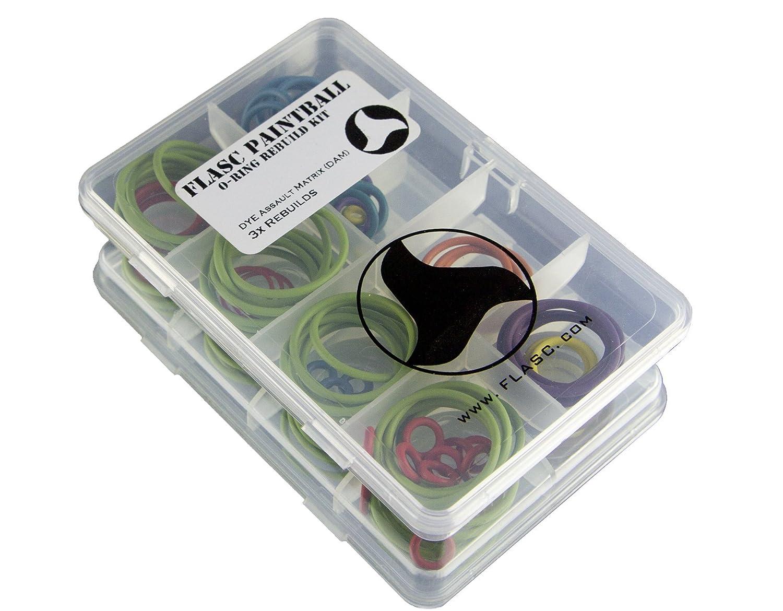 Dam Dye Assault Matrix 3/x farbig Paintball O-Ring Rebuild Kit von Flasc Paintball