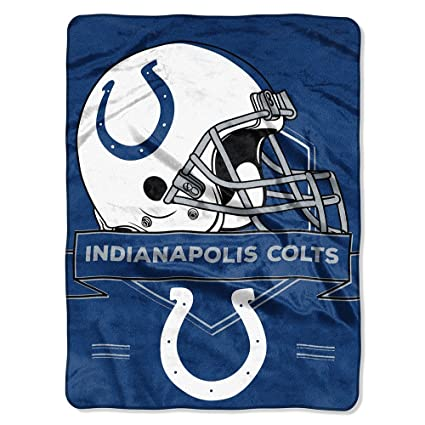 Amazon NFL Indianapolis Colts Prestige Raschel Throw Blanket Mesmerizing Colts Throw Blanket