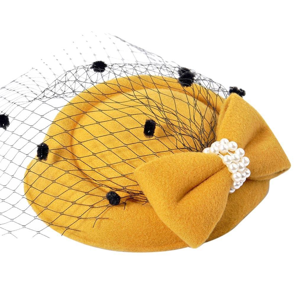 Sombrero de copa de la vendimia, Inciple Mujeres Fascinators ...