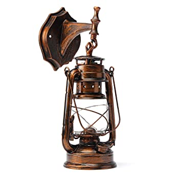 Larsure Vintage style industriel Lampe de Mur applique Lampe Murale ...
