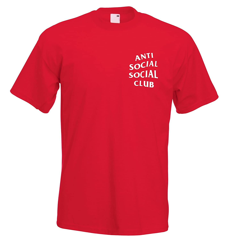 356a212ffae3 Juko Anti Social Social Club Kanye West ASSC T Shirt.  Amazon.co.uk   Clothing